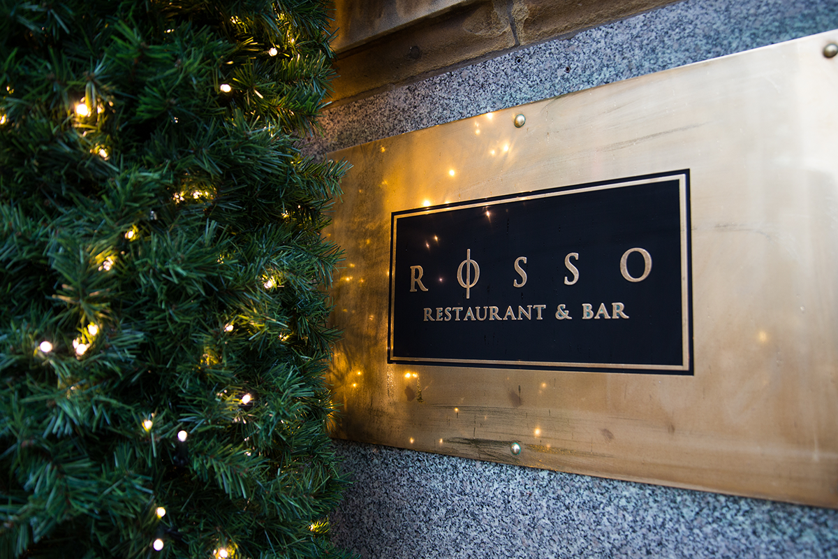 Christmas Dinner at Rosso